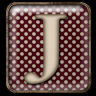 GRANNY ENCHANTED'S BLOG: Free Red Polka Square Brad Digi Scrapbook Alphabet
