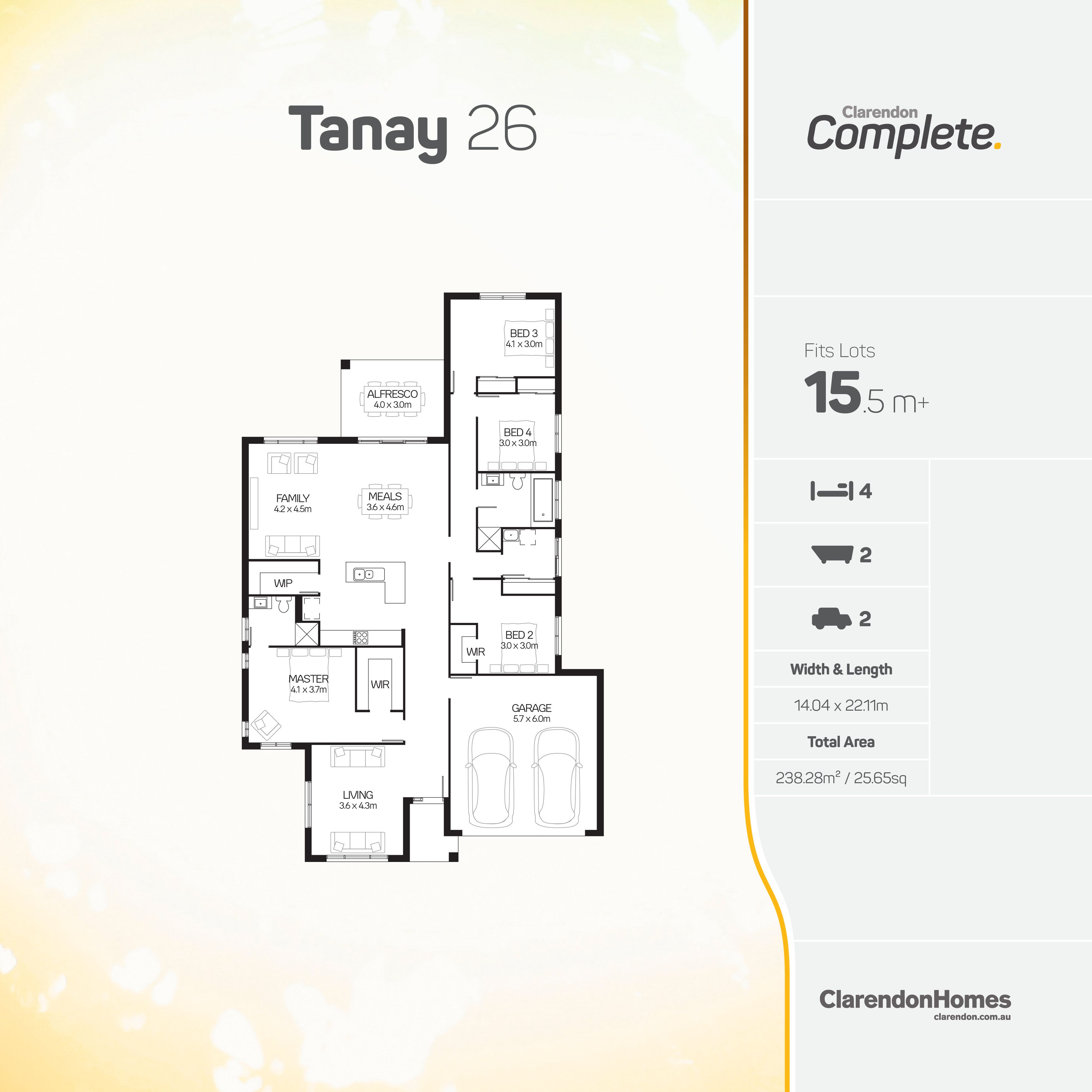 Clarendon Homes - Complete. Tanay 26. A well deserved escape fro the ...
