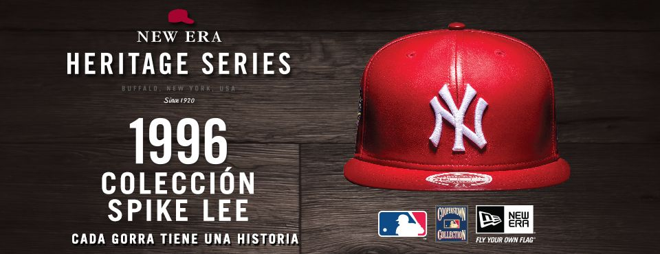 5114248323d4b La gorra New Era roja de Spike Lee  Heritage Series