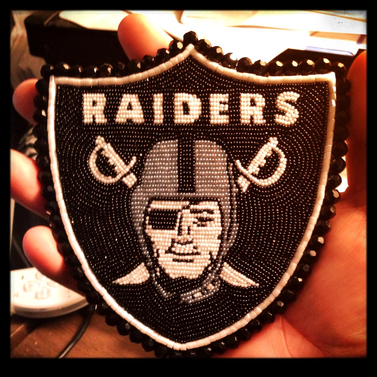 Beaded Raiders Logo Native Beading Patterns Loom