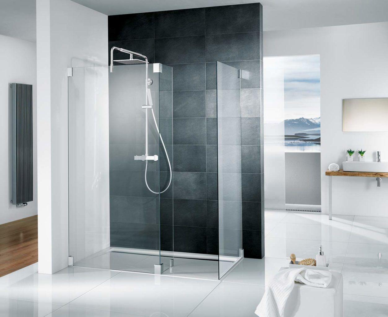 Walk In Duschen In Top Design 15 Beispiele Die Beeindrucken Duschabtrennung Walk In Dusche Dusche