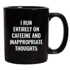 INAPPROPRIATE THOUGHTS. MUG #funnycoffeemugs