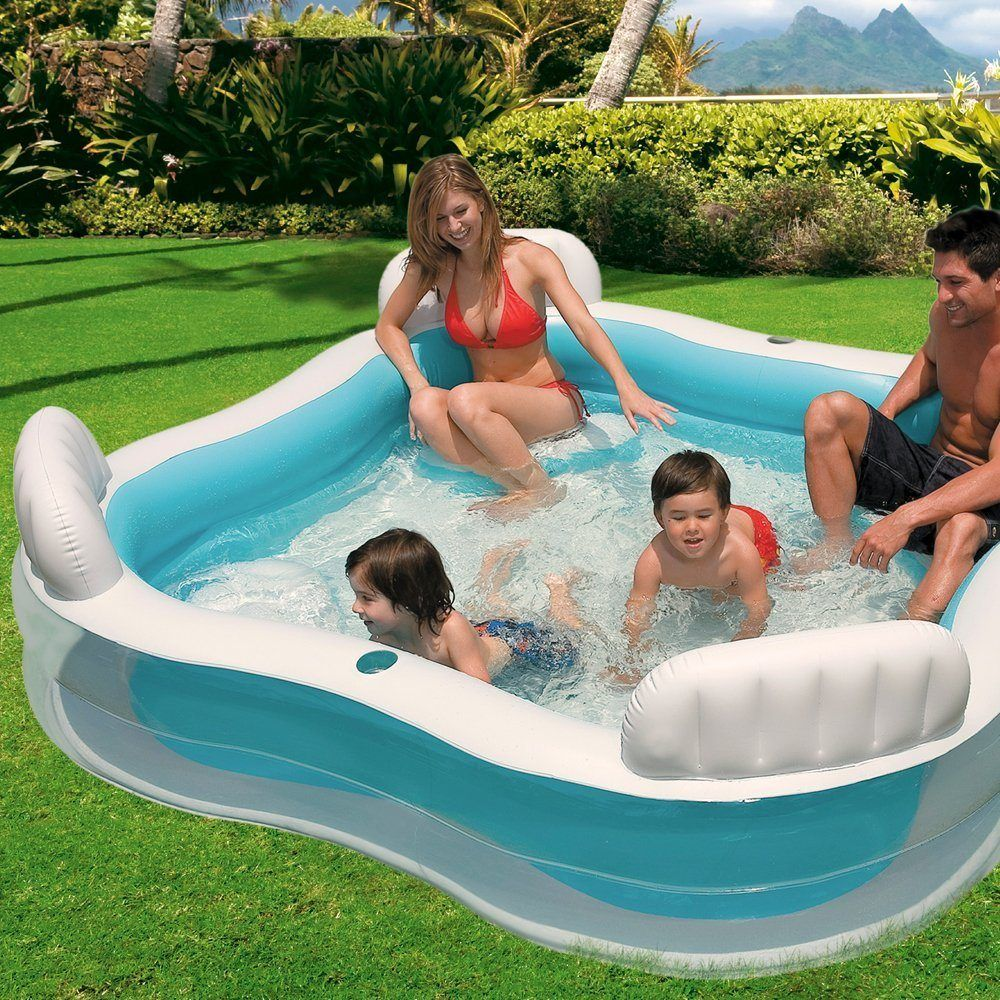 Keep Cool This Summer With A Family Lounge Pool Everyone Will Love Family Lounge Pool Inflatable Pool Inflatable Swimming Pool