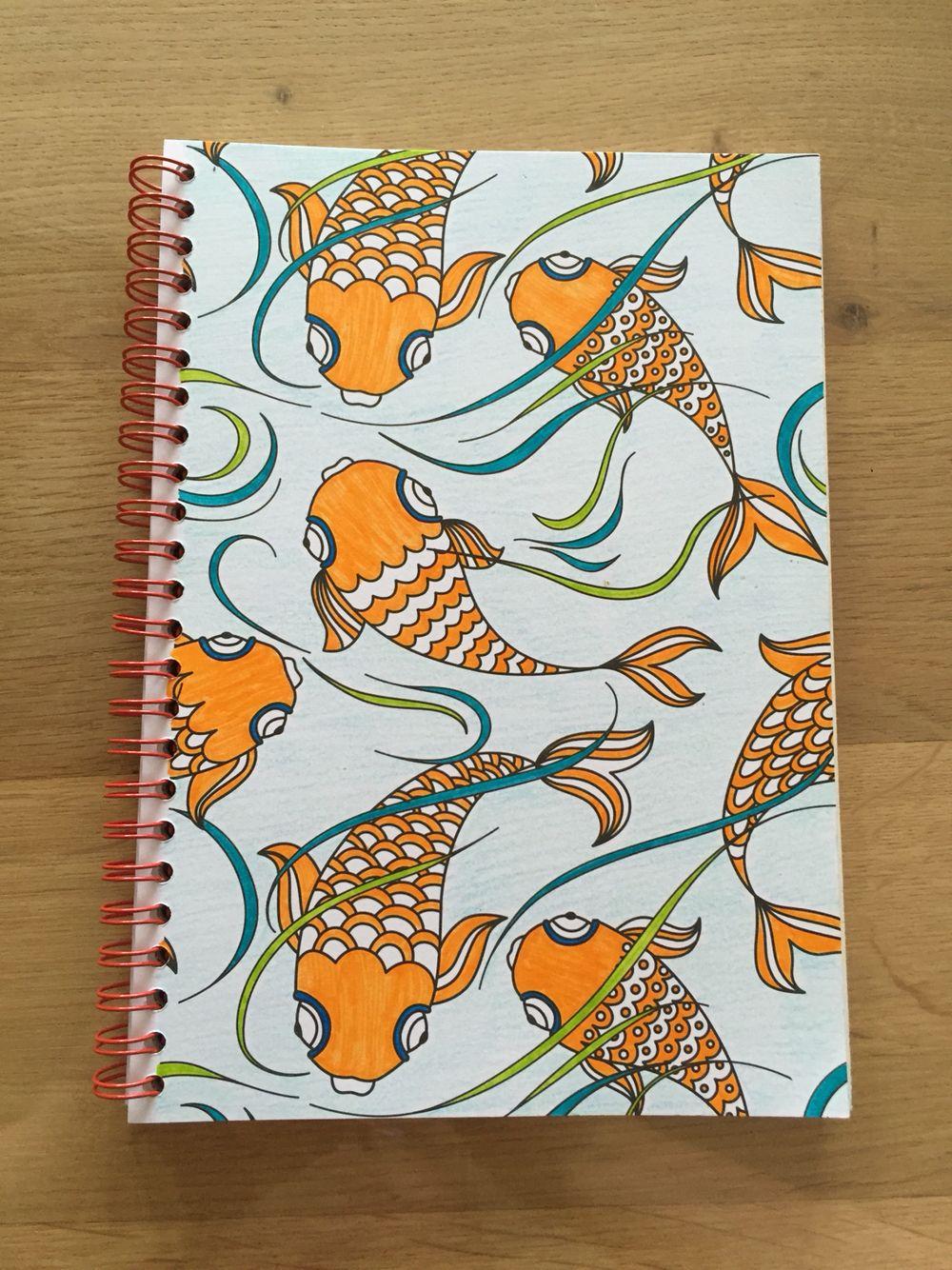 kleurplaat uit kleurboek voor volwassenen op reis door