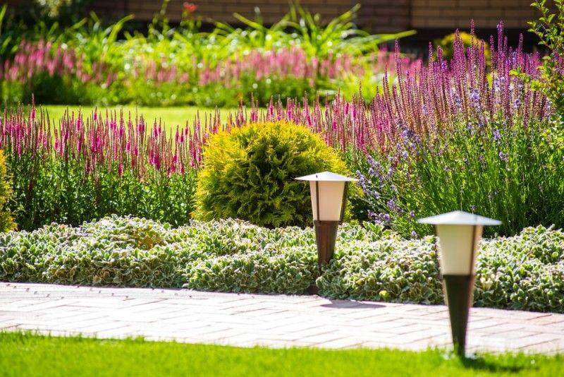More Landscape And Garden Design Ideas And Improving Values Simple Landscape Design Garden Design Landscape Design