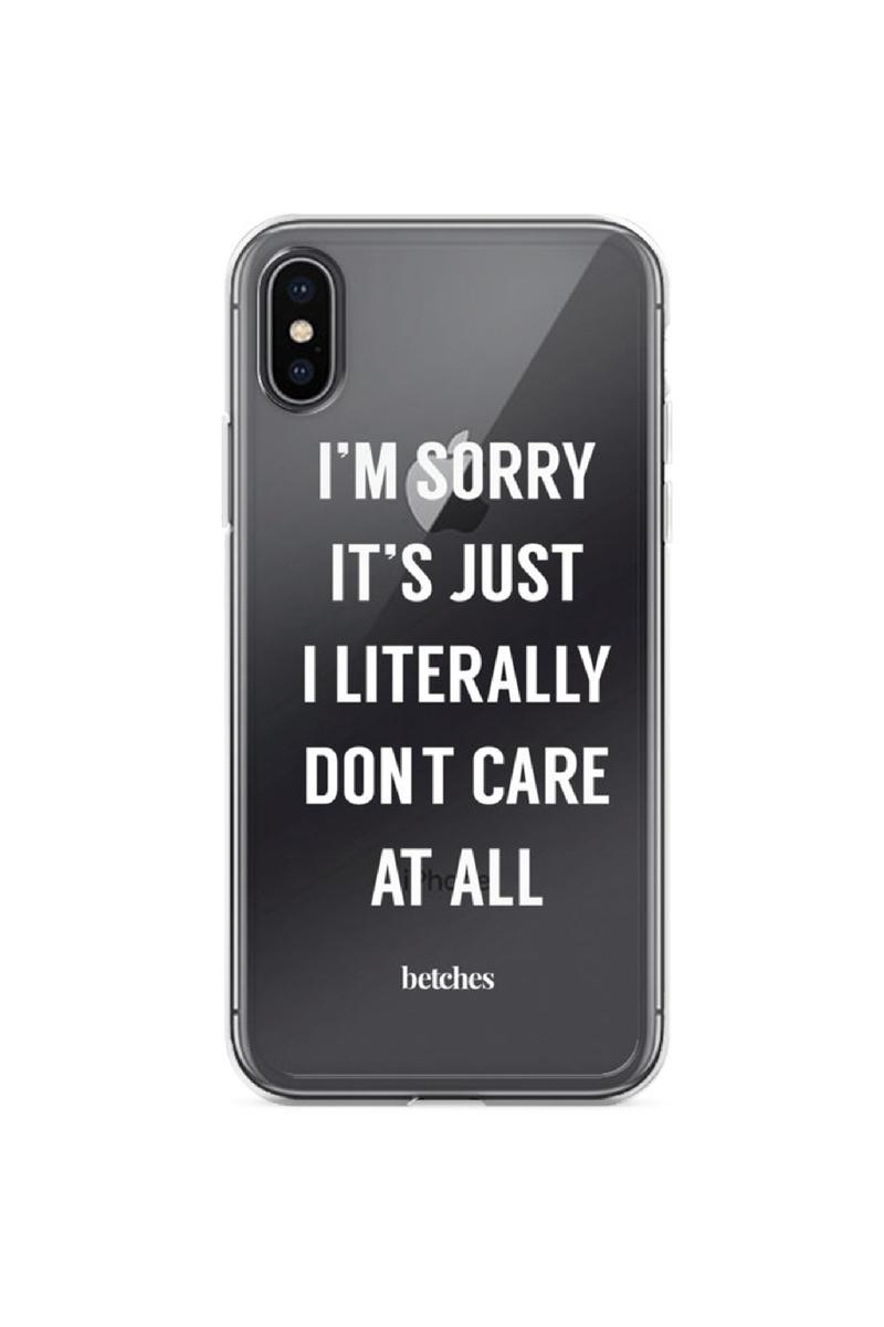 I Literally Don T Care Phone Case In 2020 Datenubertragung Telefon Handy