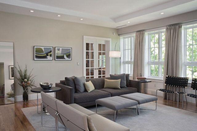 Grey Living Room Curtains - Kaisoca.com