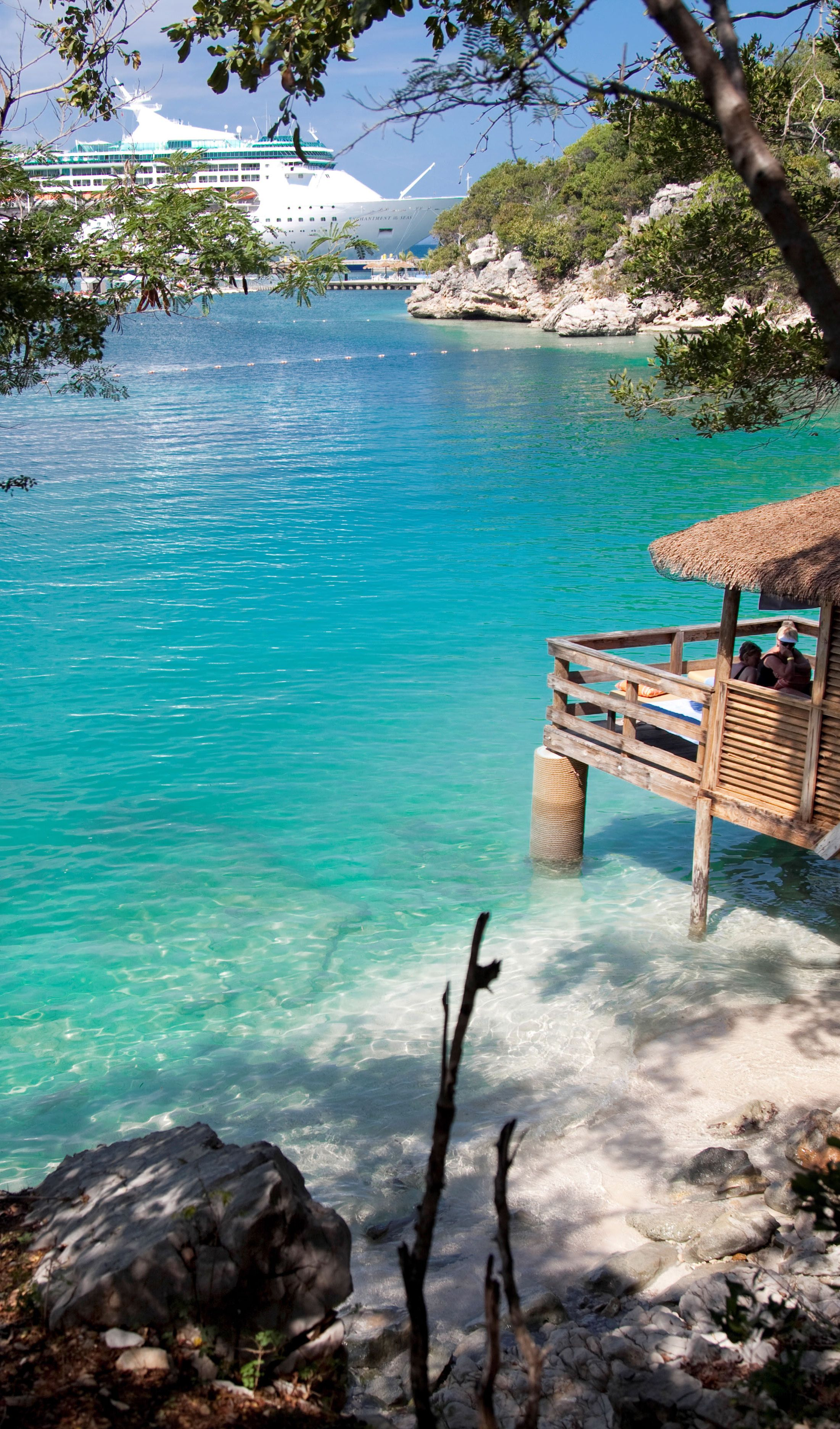 Labadee Haiti Reserving A Private Cabana Will Truly Redefine Your Meaning Of Relaxing Vacation