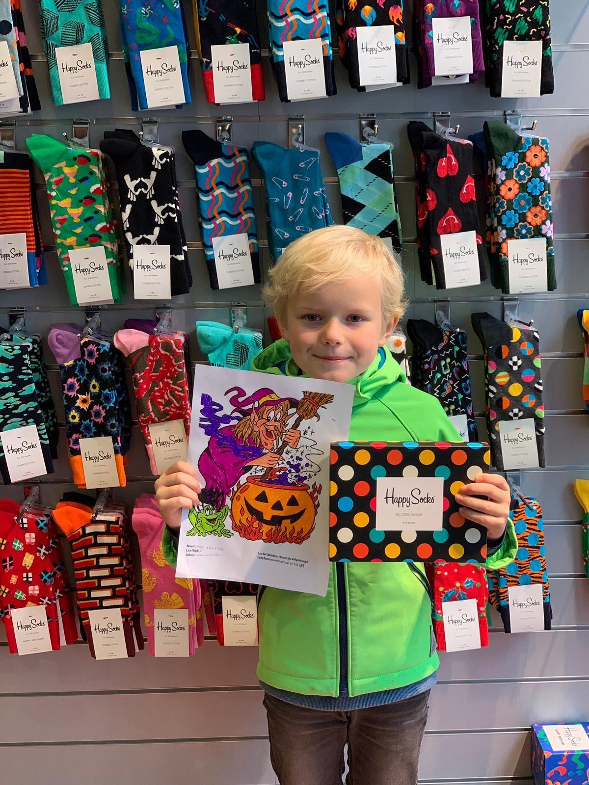 Abe Winnaar Tekenwedstrijd Tekenwedstrijd Gefeliciteerd Halloween