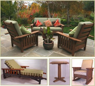 outdoor craftsman style furniture traditional outdoor products rh pinterest com