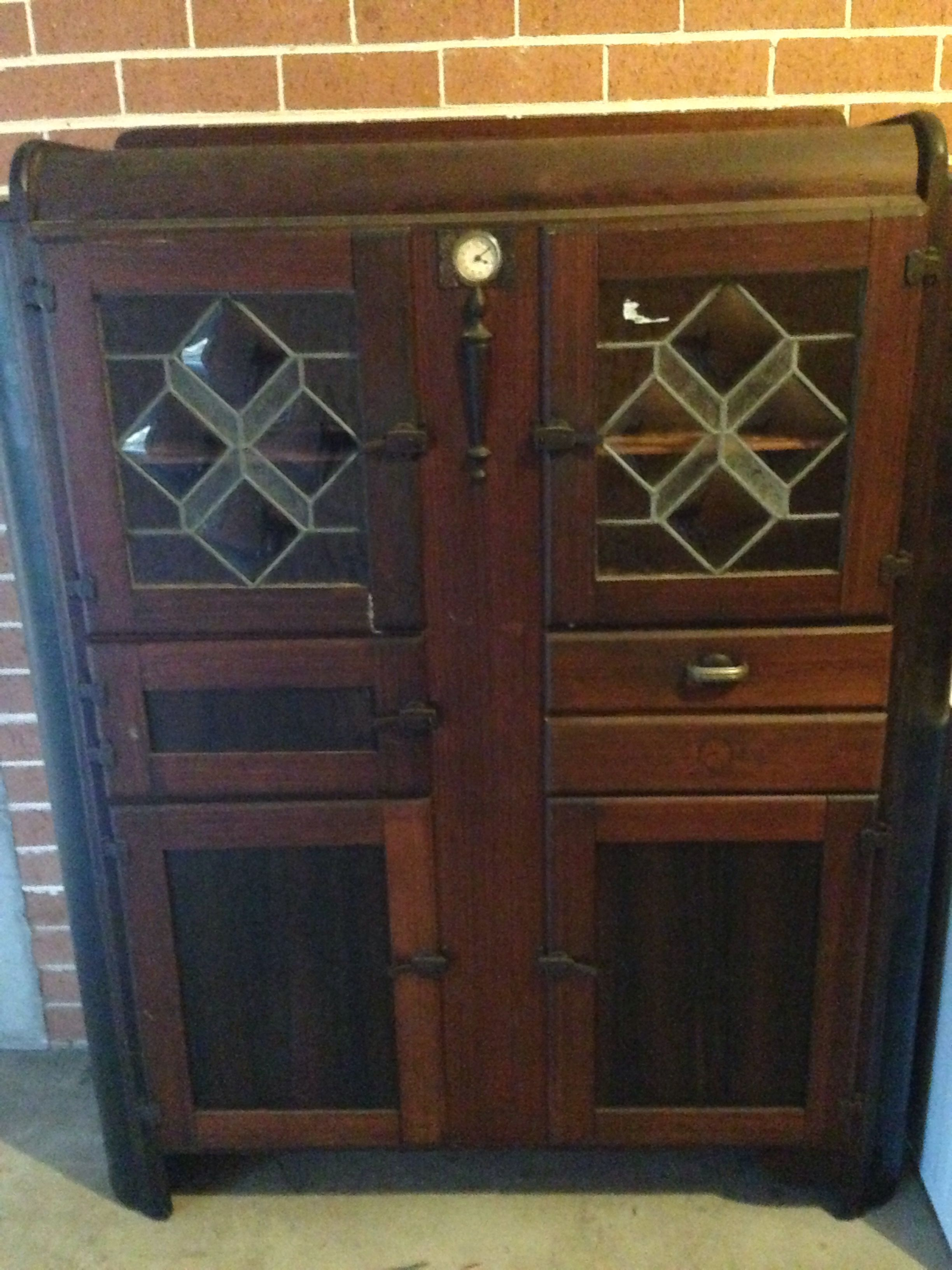 Kitchen cabinet circa 1940s | Old kitchen cabinets, Old ...