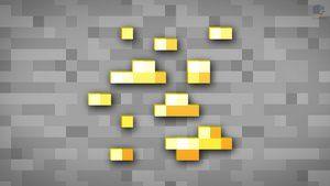 Minecraft Gold Block Minecraft Wallpaper Minecraft Minecraft Pixel Art