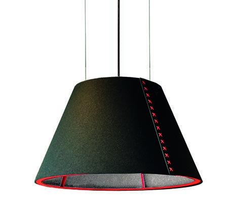 Tegan Lighting Acoustic Shades Buzzi Pendent Lighting Arch