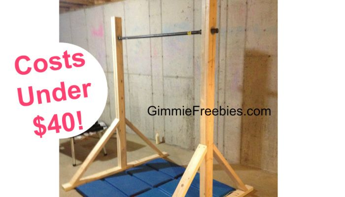 Diy Make A Gymnastics Beam At Home Under 10 In No Time Diy