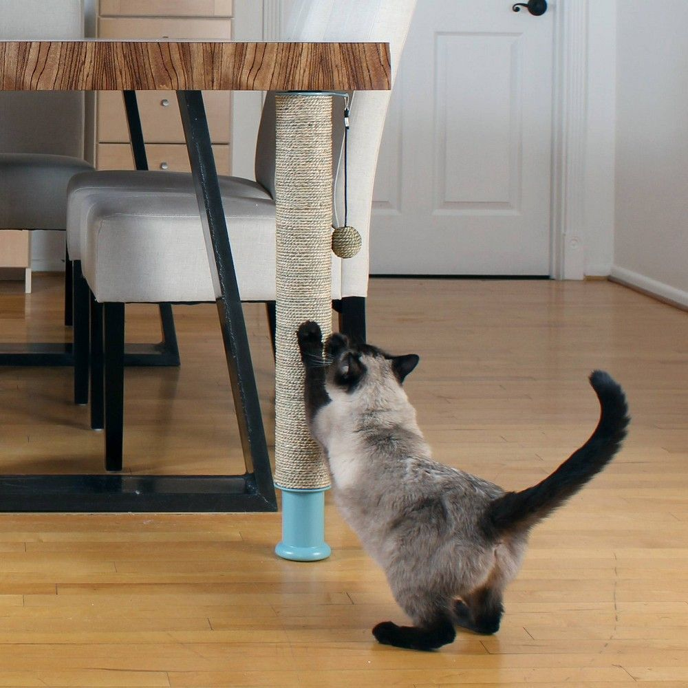 Hauspanther Pole Deluxe Cat Scratcher Cat Scratcher Cat Scratching Cats
