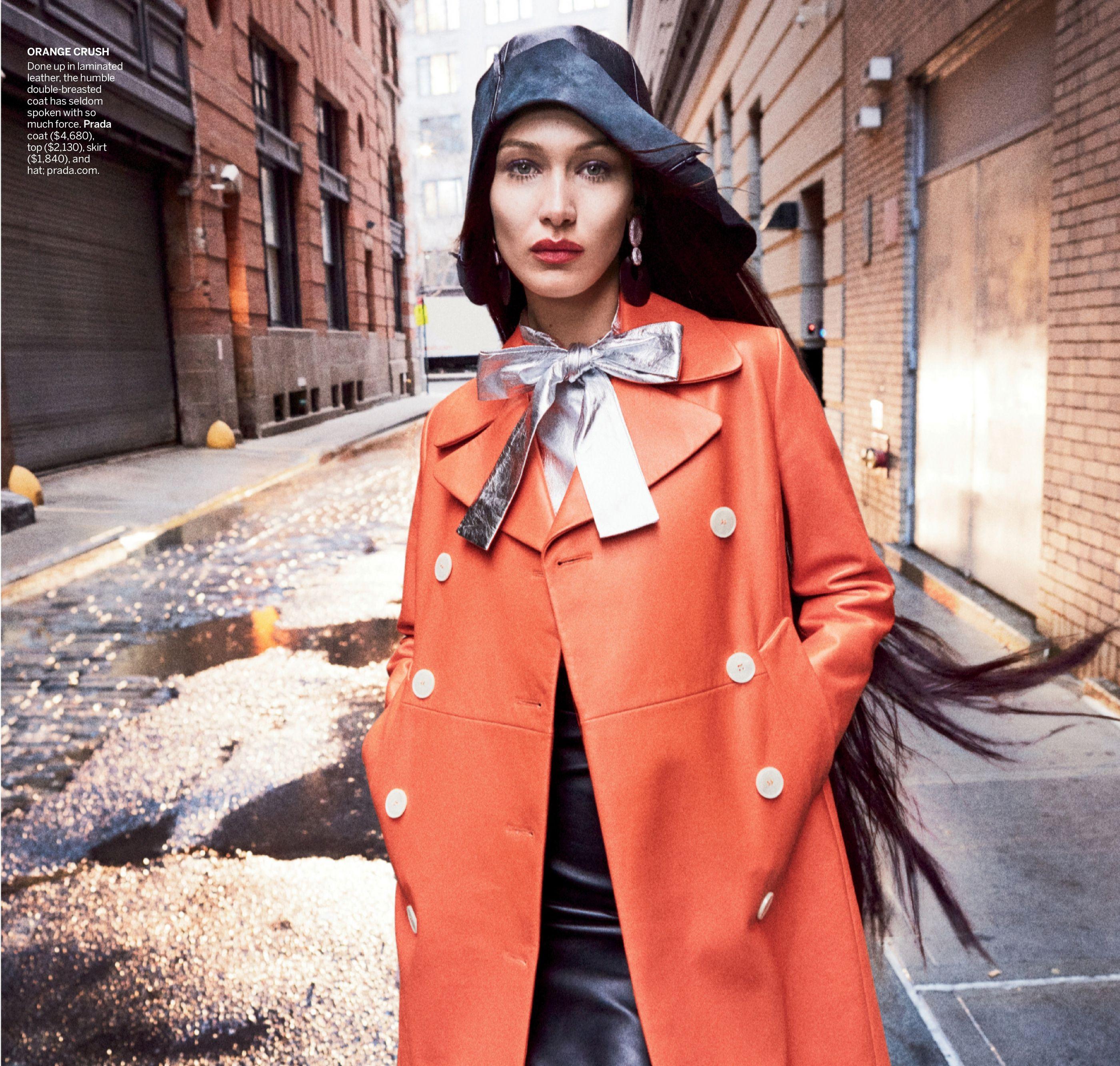 Gigi Hadid & Bella Hadid by US Vogue March 2020 em 2020 ...