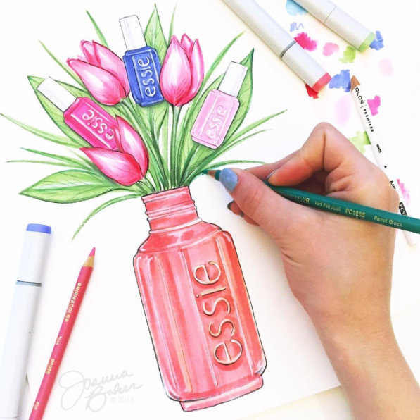 essie nail colors are in full bloom -- we\'re craving a fresh mani ...