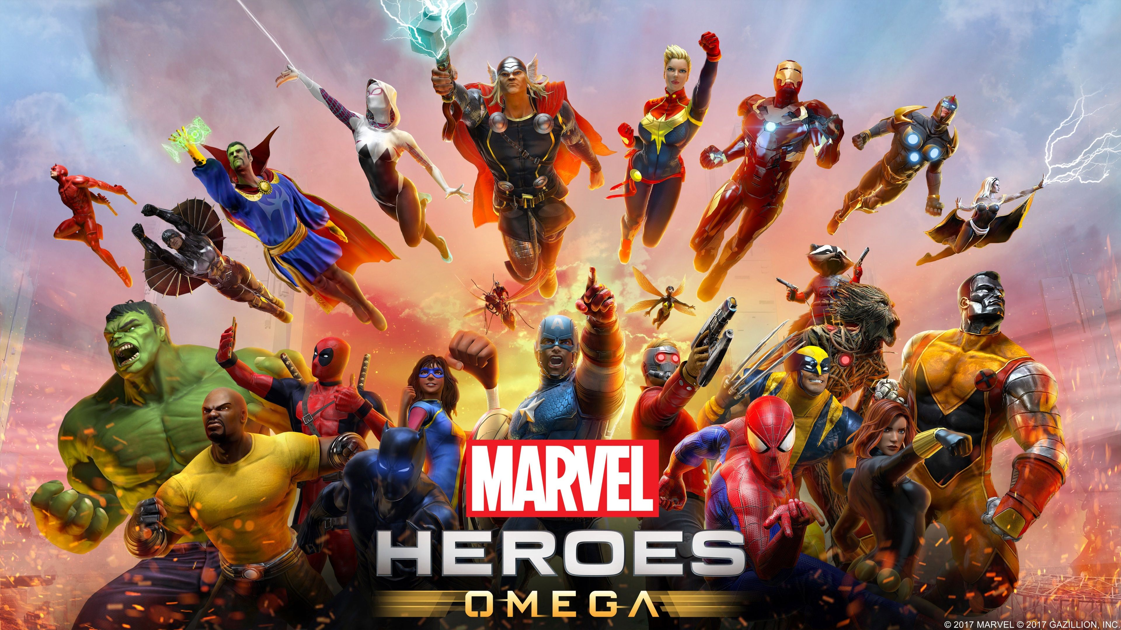 3840x2160 marvel heroes omega 4k wallpaper hd puter desktop