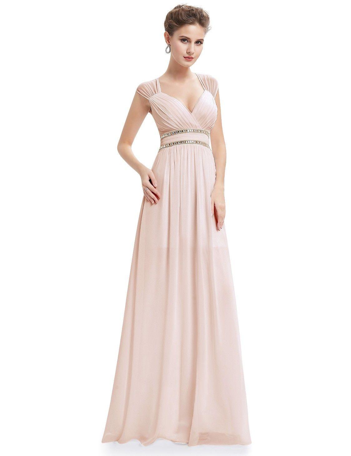 529bc8c44d Sleeveless Grecian Style Evening Dress