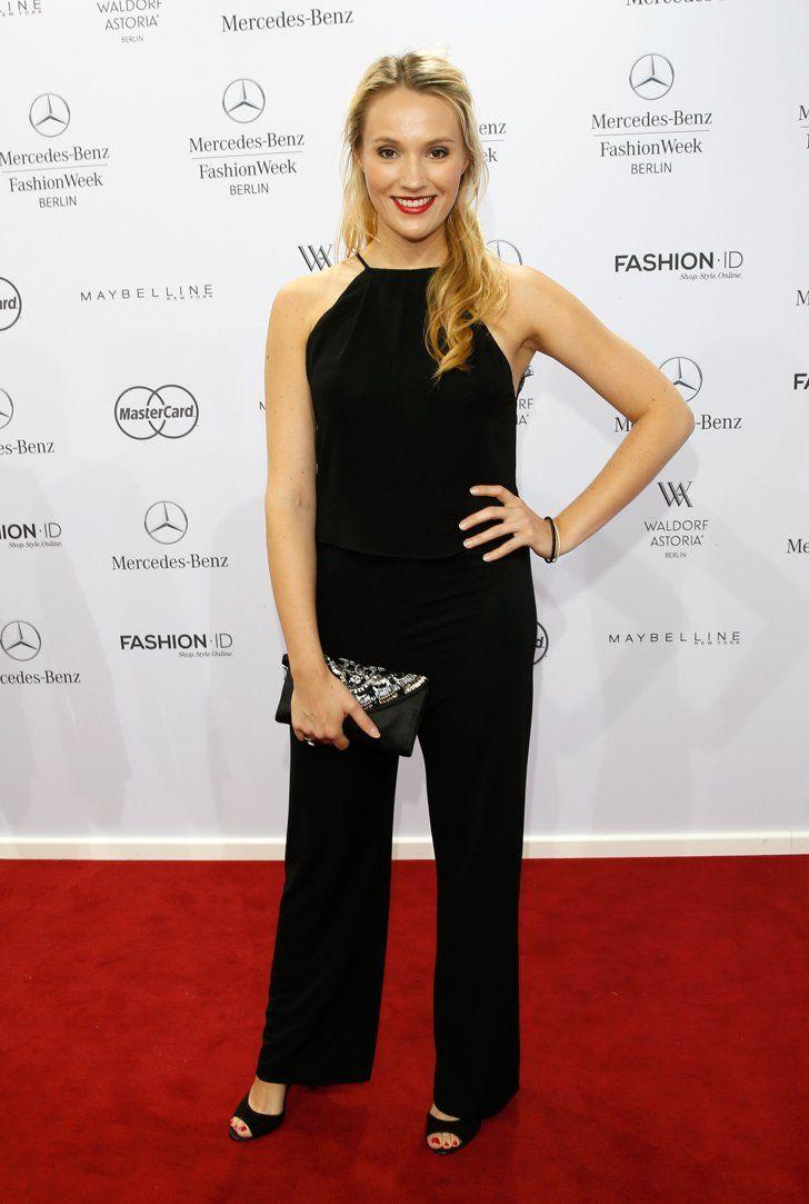 Pin for Later: Die Stars machen Berlin zum Mode-Mekka bei der Fashion Week Anna Christiana Hofbauer bei der Schau von Minx by Eva Lutz