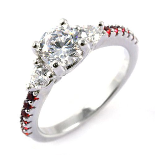 engagement new wedding red of mindyourbiz rings idea sets band lady awesome jewelry firefighter