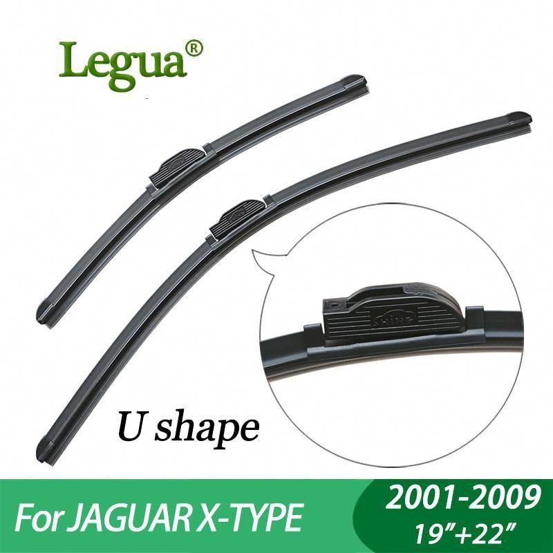 Legua Wiper Blades For Jaguar X Type 2001 2009 19 22 Car Wiper Boneless Windscreen Wiper Car Accessory Yesterd Car Wiper Windscreen Wipers Wiper Blades