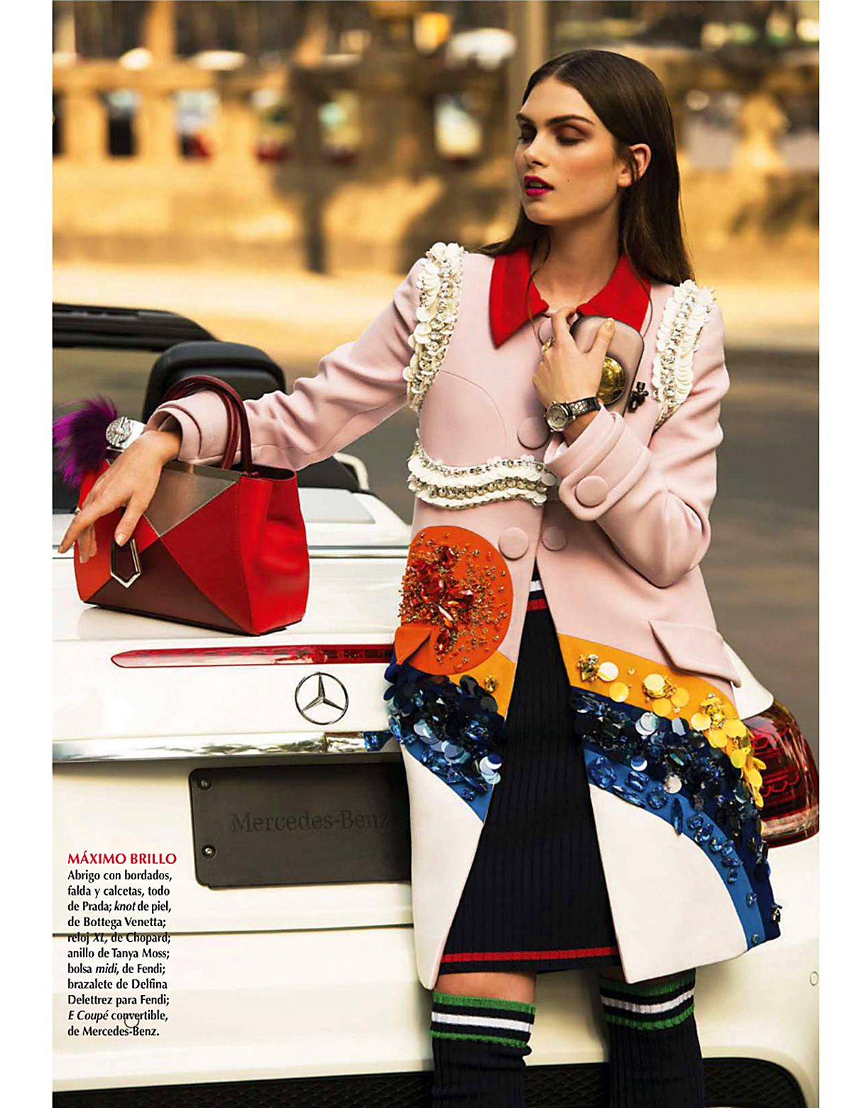 visual optimism; fashion editorials, shows, campaigns & more!: absoluta sofisticación: maria palm by alexander neumann for vogue mexico april 2014