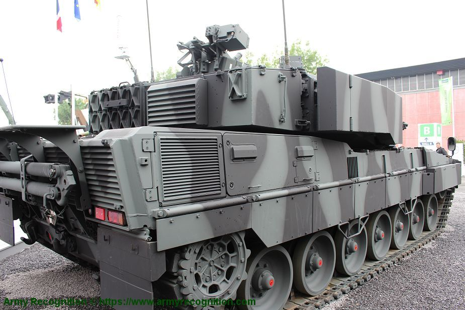 Leopard 2A7 MBT Main Battle Tank Germany German army KMW