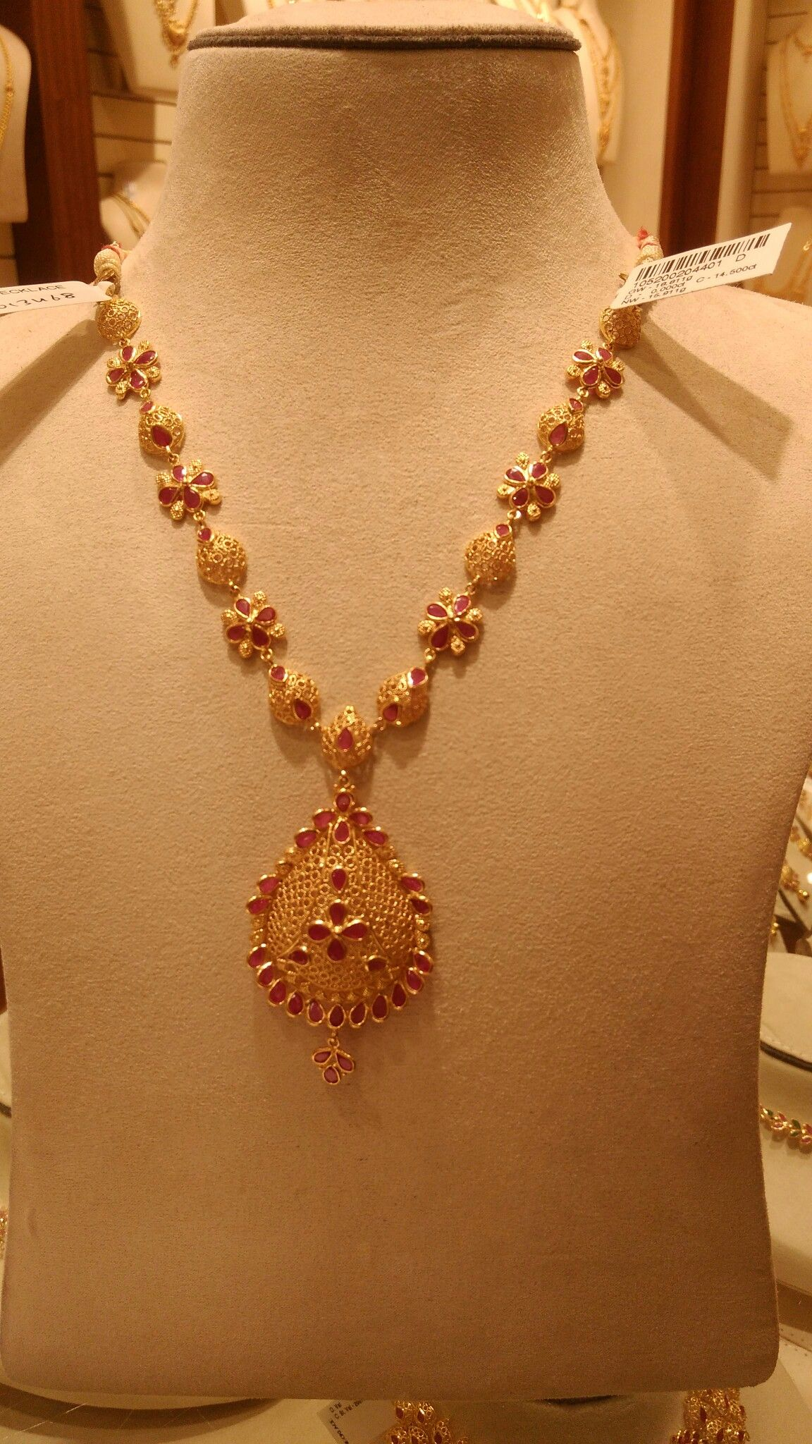 Ruby necklace gorgeous necklaces pinterest indian gold jewelry
