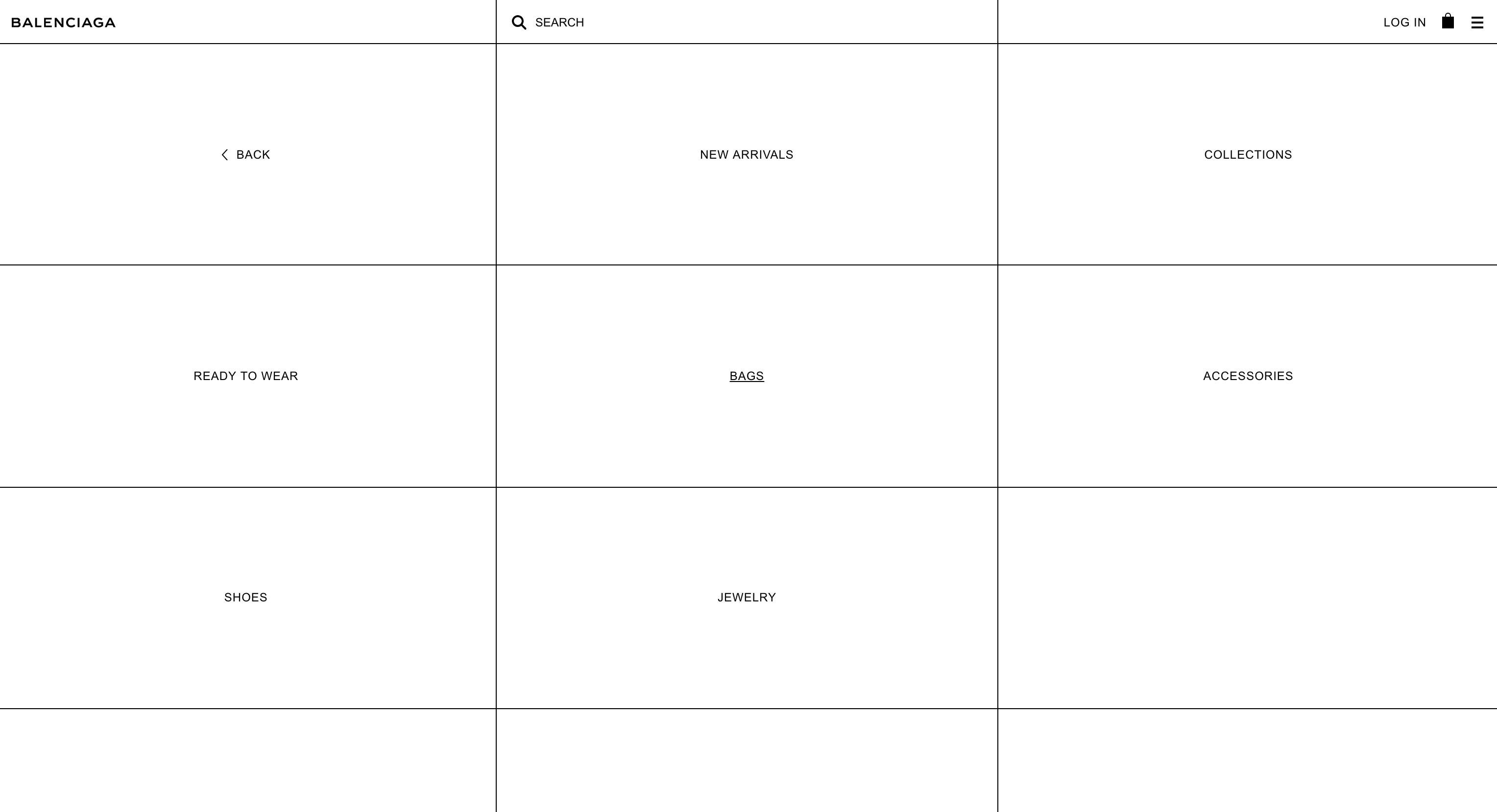 y'all been crazy designing websites but Balenciaga's