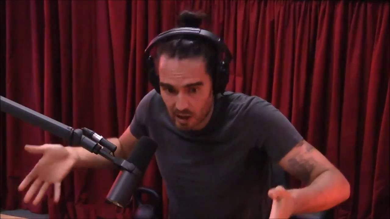 Russell Brand 'I Don't Want to Be Poor Again' Joe Rogan