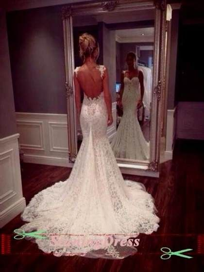 Awesome Open Back Lace Wedding Dresses Tumblr 2017 2018