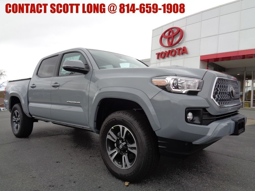 2019 Toyota New 2019 Double Cab 4x4 3.5L 4WD TRD