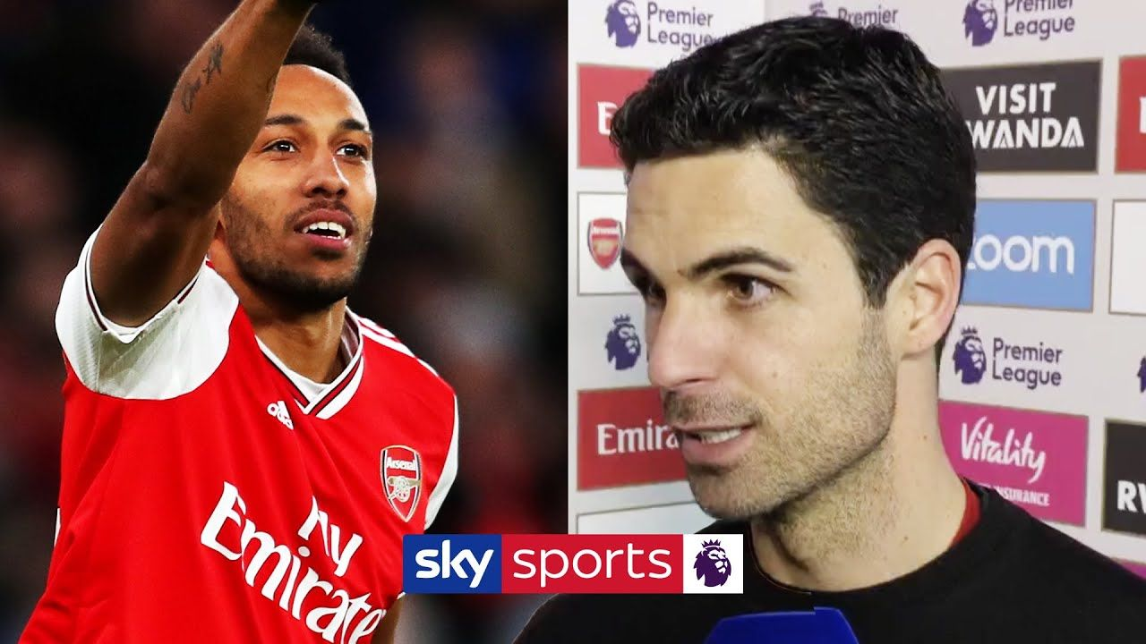 Mikel Arteta reveals the doubts he had about Aubameyang