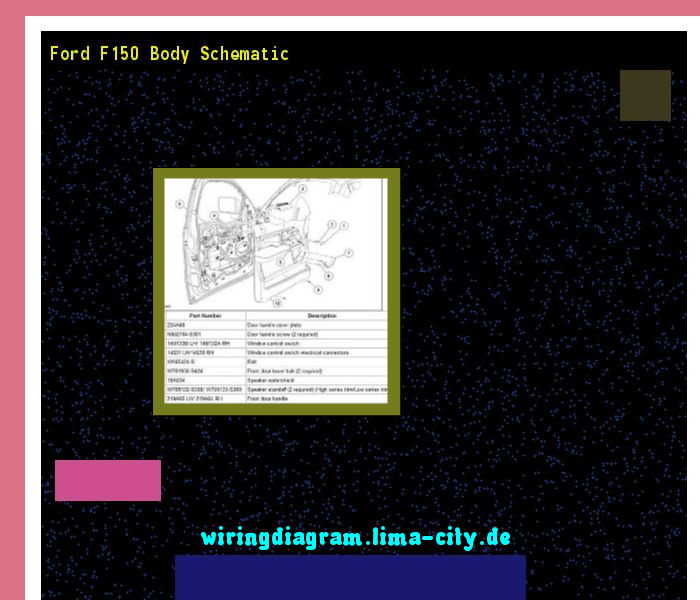 Ford F150 Body Schematic Wiring Diagram 195 Amazing Rhpinterest: Ford F150 Body Schematic At Gmaili.net