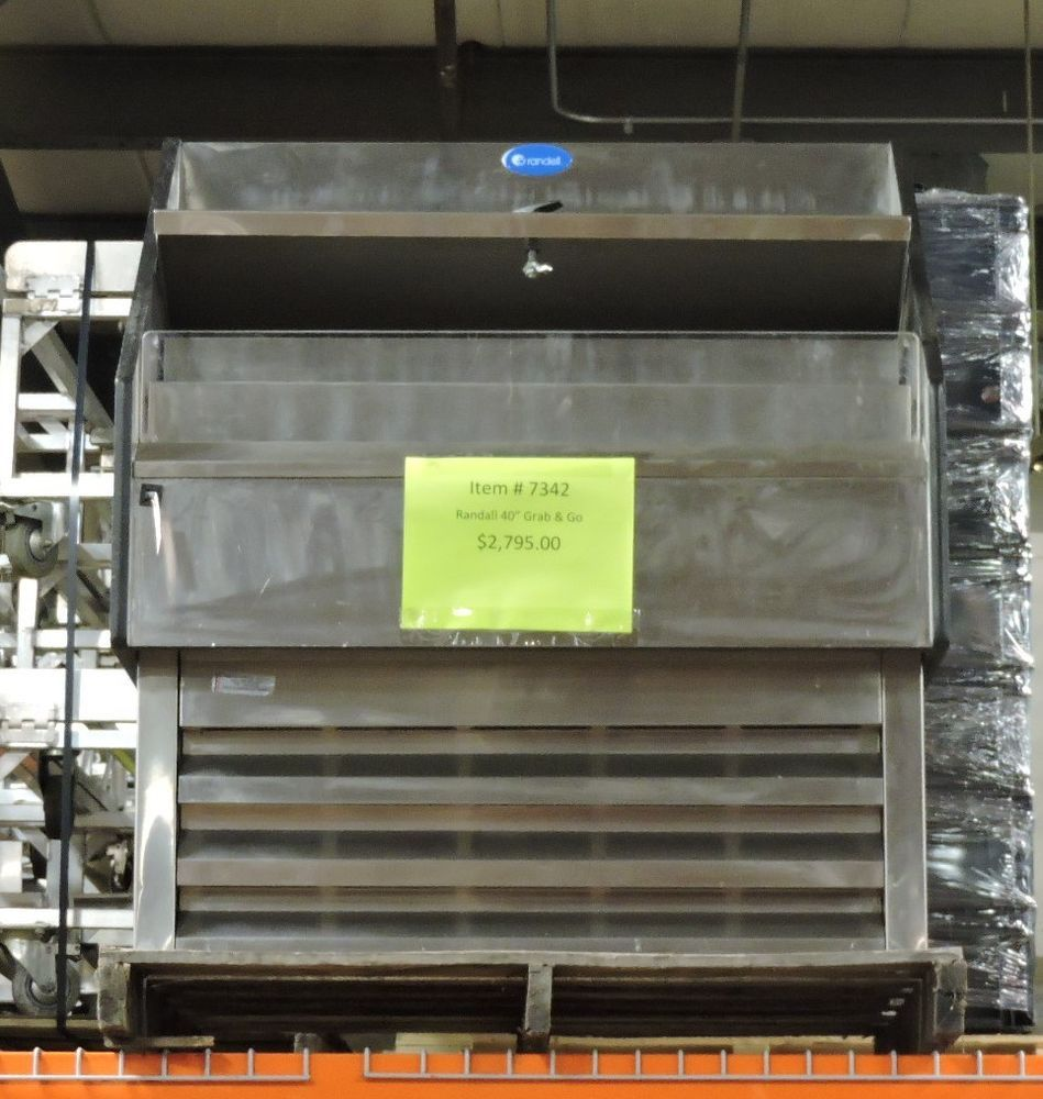 Randell Ssac 40 Commercial Refrigerated Self Service Air Curtain