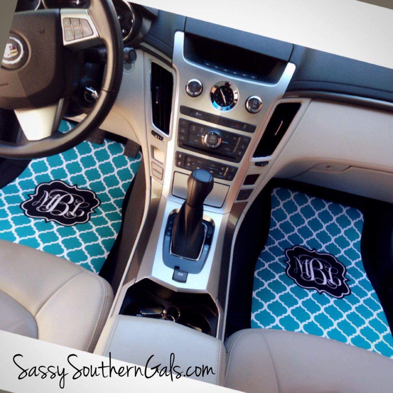 Sweet 16 Gift, Monogrammed Car Floor Mats, Monogrammed Car ...