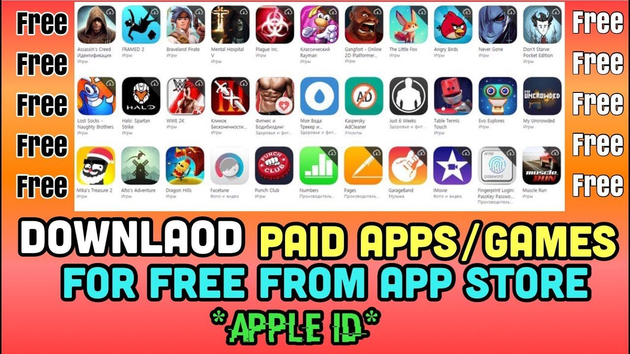 Download Paid Apps/Games for Free With Premium Apple ID iPad