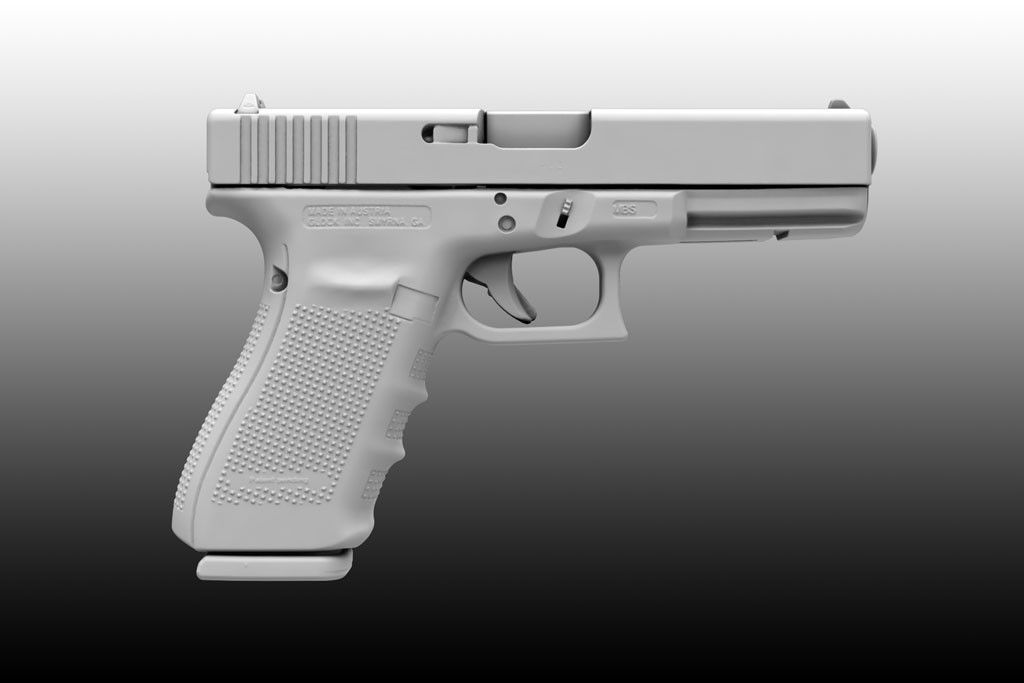 3D Model Scan Glock 21 - 3D Model | Glock | Pinterest