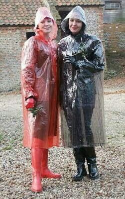 e5ade42c0 2 Plastic mackintoshes Clear Raincoat, Plastic Raincoat, Pvc Raincoat,  Hooded Raincoat, Plastic