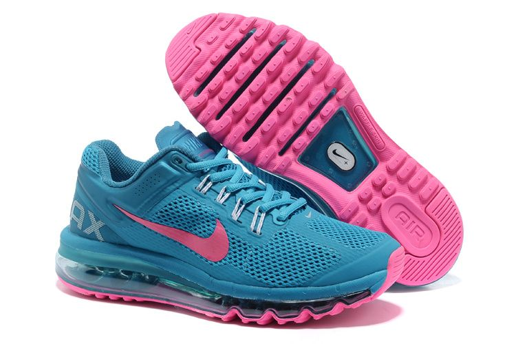 Women's Nike Air Max 2013 pink/black | Clothes | Pinterest | Pink black, Air  max and Black