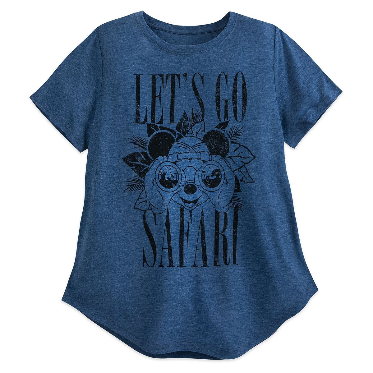 d846ed2a Product Image of Mickey Mouse ''Let's Go Safari'' T-Shirt for Women -  Disney's Animal Kingdom # 1