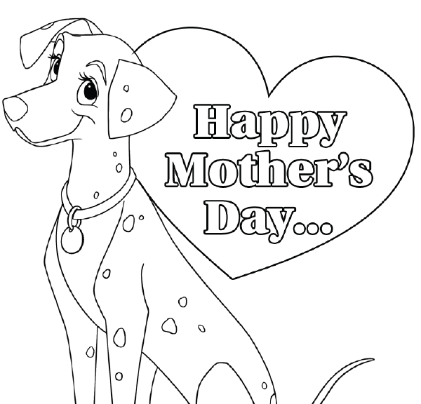 Free Color Print Mothers Day Card From DealiciousMom