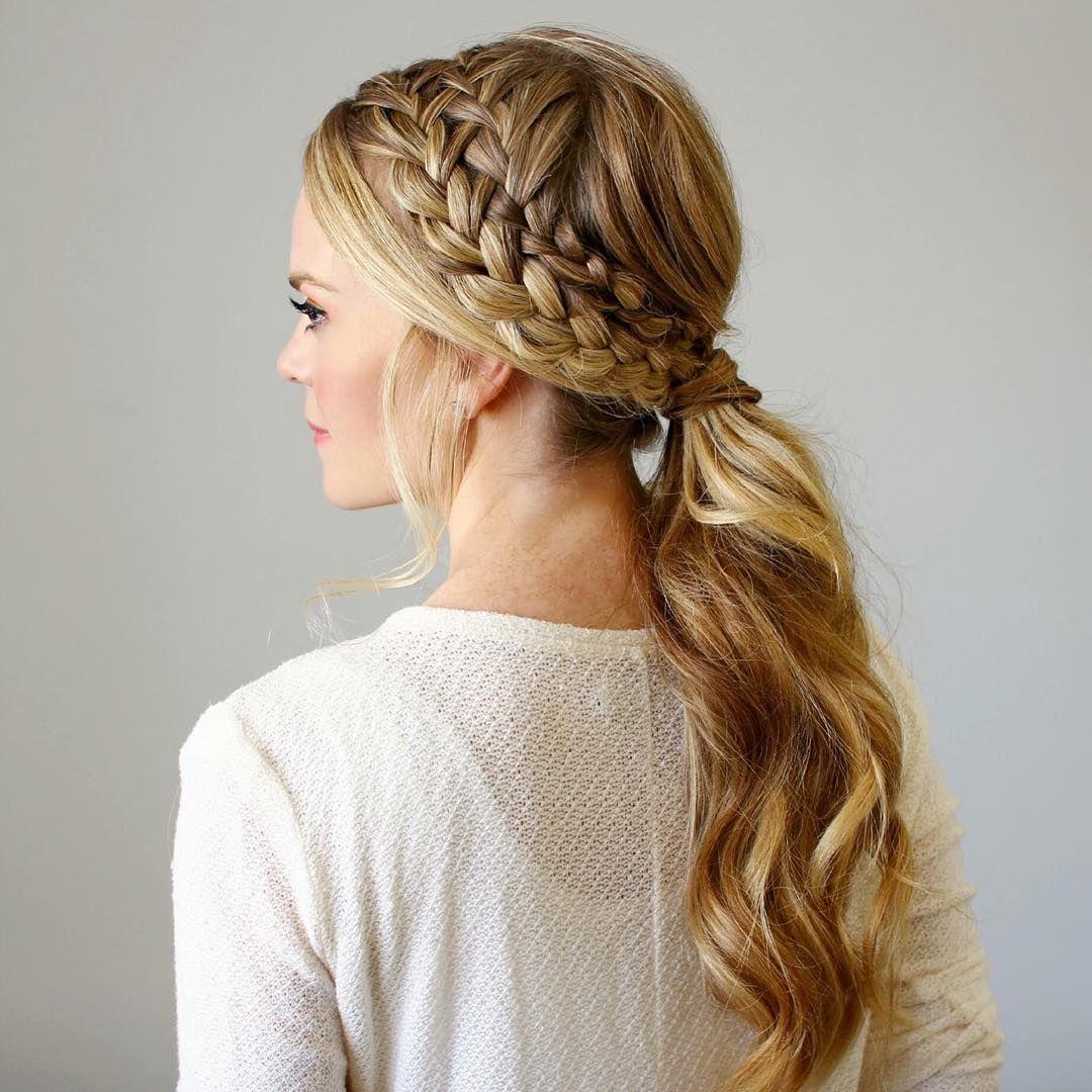 Lace Headband Braid | Hair/Beauty | Hair, Hair styles ...