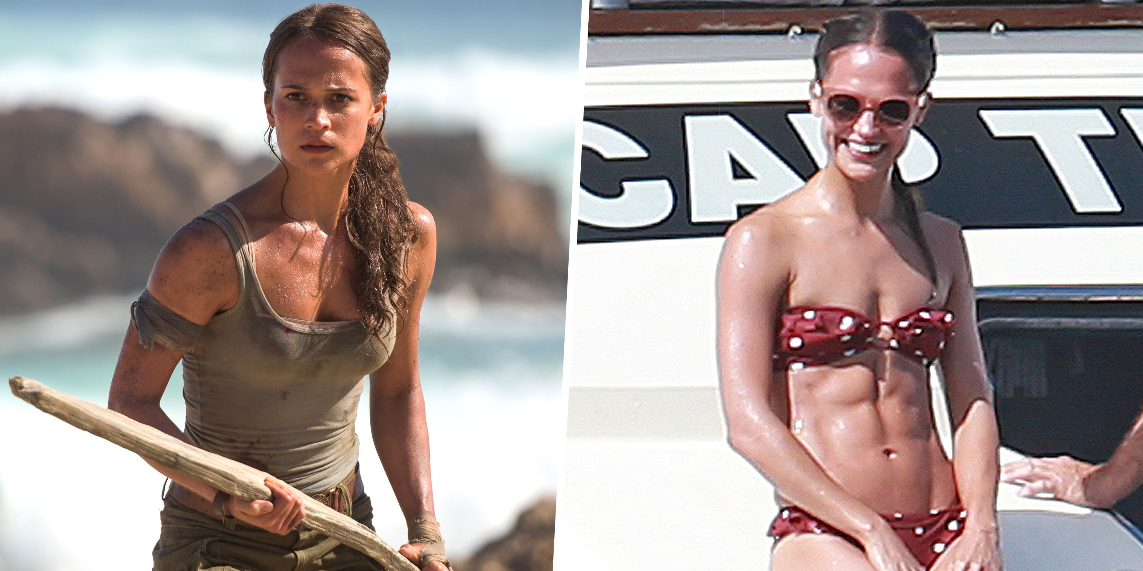 What Alicia Vikander Eats to Get Her Six-Pack