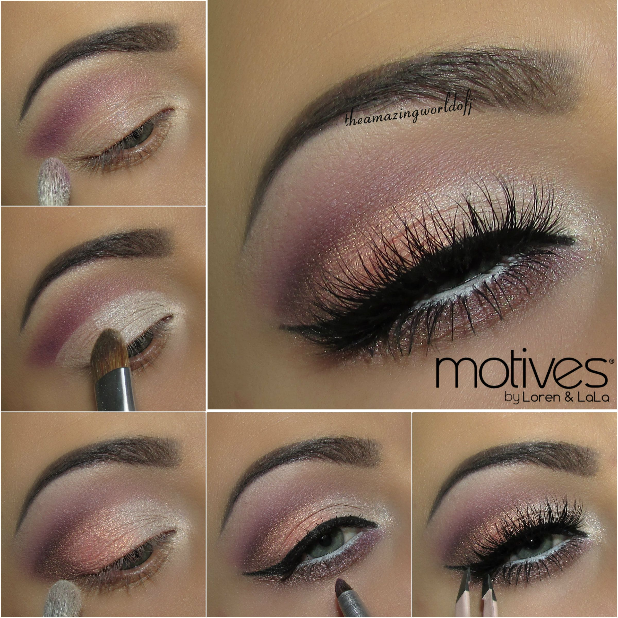 Get The Look Motives Spring Looks Spring Makeup Eye Makeup