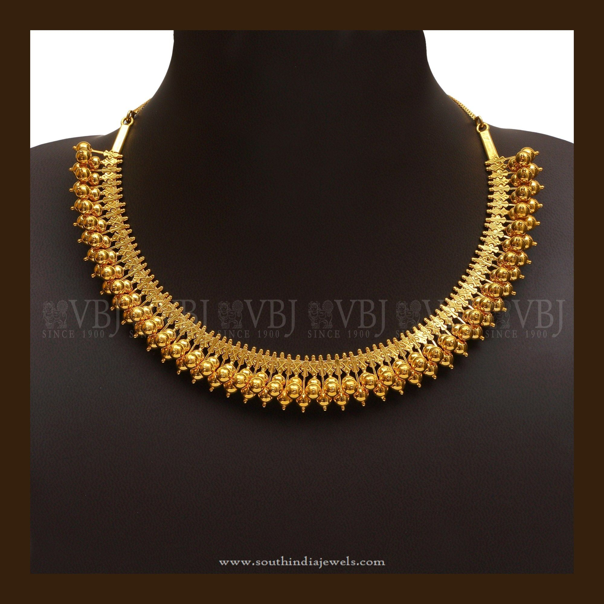 Simple Gold Necklace Designs | Simple necklace, Necklace designs and ...