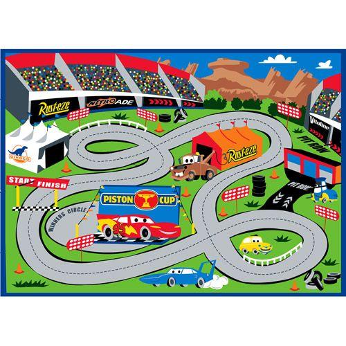 Disney Cars Play Rug