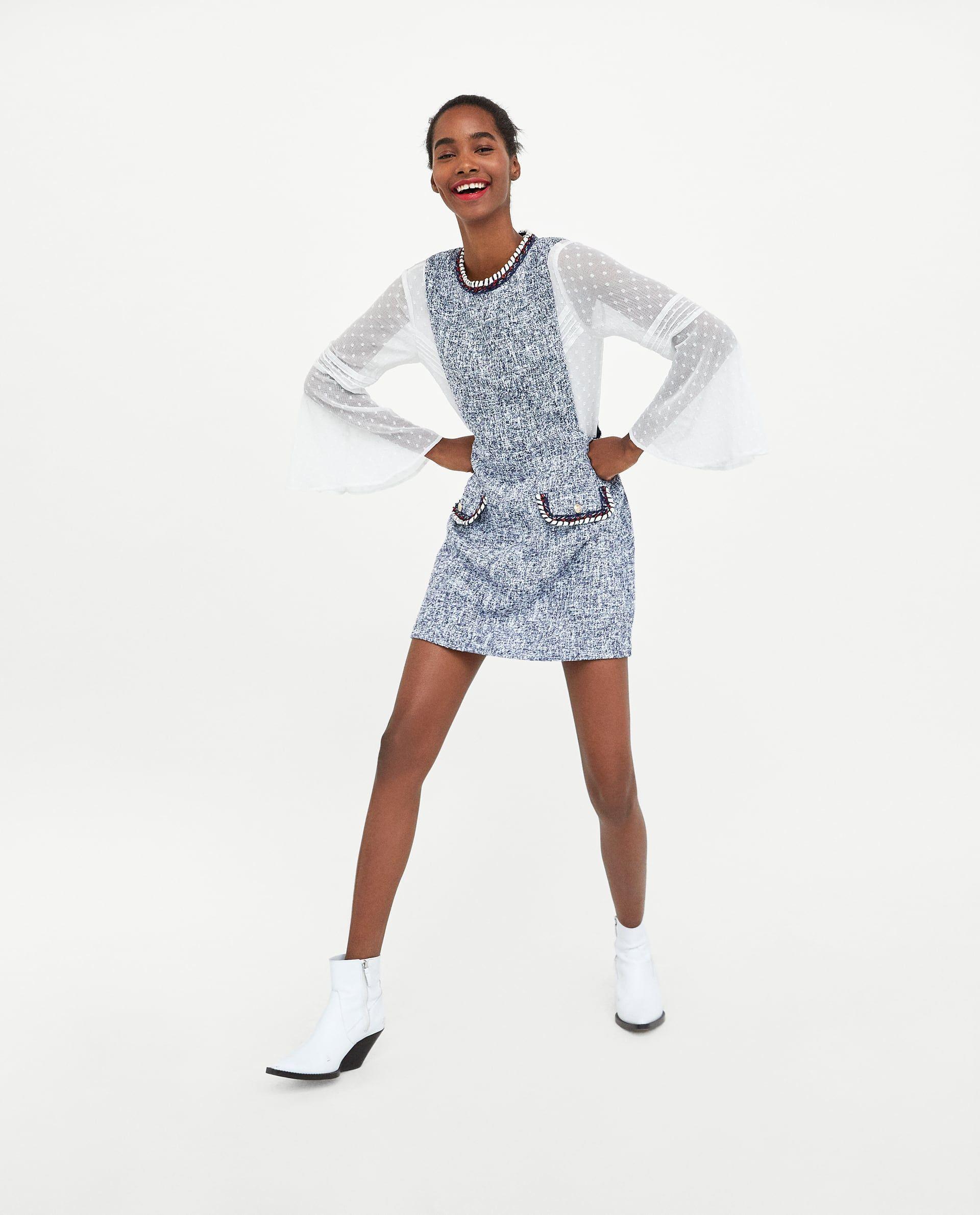 vendita più calda trova fattura moda VESTIDO JASPEADO | Zara | Vestiti, Zara e Donna