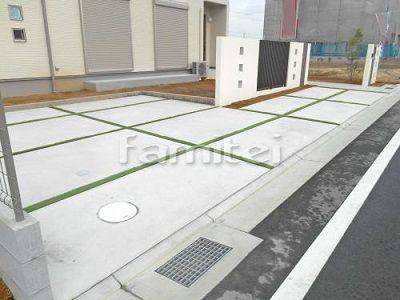 駐車場床のオススメ目地 外構 庭 リフォーム エクステリア情報